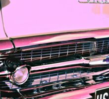 Candy Pink Chevrolet Sticker