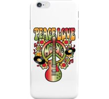 Peace-Love-Music iPhone Case/Skin