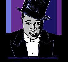 Duke Ellington Portrait by CecelyBloom
