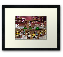 The Middle Framed Print