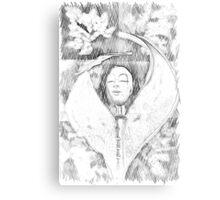 Sorcerer Template Canvas Print