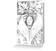 Sorcerer Template Greeting Card