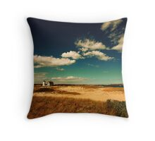 Stage Harbor Light House Cape Cod Throw Pillow