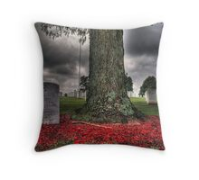 fallen soldiers 5 Throw Pillow