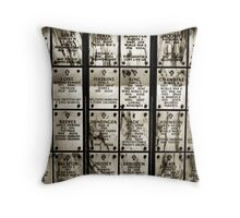 fallen soldiers 6 Throw Pillow
