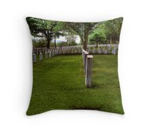 fallen soldiers 7 Throw Pillow