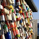 Buoy Provincetown Cape Cod by Artist Dapixara