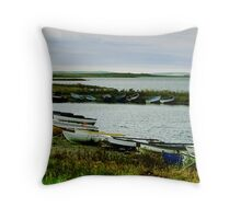 The Loch of Harray Throw Pillow