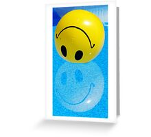 Don't Be Sad, Be Glad Greeting Card