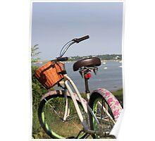 Pink Bike. Poster