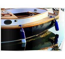 Boat Reflect. Poster