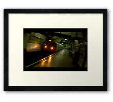 London Green 1 of 6 : Motion A Framed Print