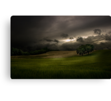 Night Approaches Canvas Print