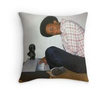 the Schroeder pose Throw Pillow