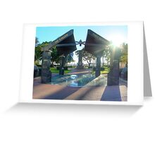Anzac park Townsville, HDR Greeting Card