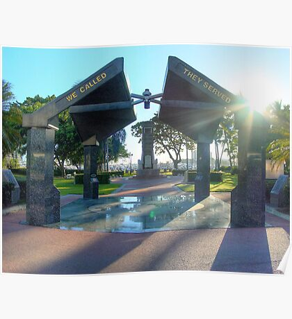 Anzac park Townsville, HDR Poster