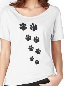 Animal Footsteps Women's Relaxed Fit T-Shirt