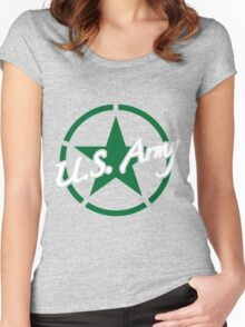 U.S. Army Women's Fitted Scoop T-Shirt