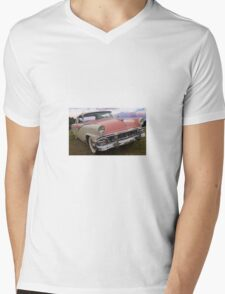 Retro car Mens V-Neck T-Shirt