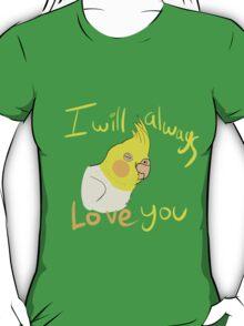 IWALY - Lutino Cockatiel T-Shirt