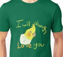 IWALY - Lutino Cockatiel Unisex T-Shirt