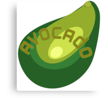 AVOCADO FRUIT  Canvas Print