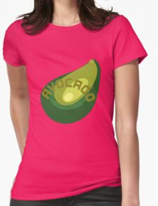AVOCADO FRUIT  Womens Fitted T-Shirt
