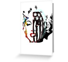 American Beauty / American Psycho - Fall Out Boy - Marylin Monroe Greeting Card