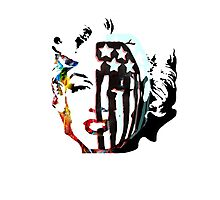 American Beauty / American Psycho - Fall Out Boy - Marylin Monroe Photographic Print
