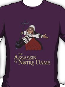The Assassin of Notredame T-Shirt