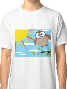 Owl — Flight Scene Classic T-Shirt