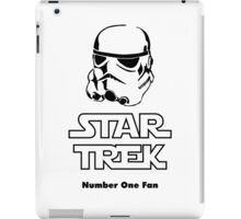 STAR TREK number one fan #2 iPad Case/Skin