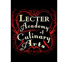 Lecter Academy of Culinary Arts. Photographic Print