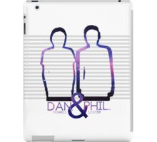 Dan Howell & Phil Lester Galaxy Outline iPad Case/Skin
