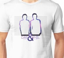 Dan Howell & Phil Lester Galaxy Outline Unisex T-Shirt
