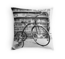 Yesterday's Transportation Throw Pillow