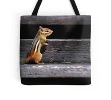 Tiny Visitor... Tote Bag