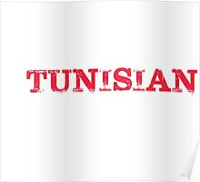Smart  Good Looking Tunisian T-shirt Poster