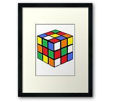 Cubed Framed Print