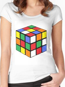 Cubed Women's Fitted Scoop T-Shirt