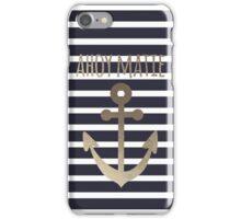 Ahoy Matie iPhone Case/Skin
