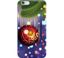 Red Ball and Branches iPhone Case/Skin