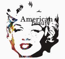 American Beauty - Marylin Monroe by frnknsteinn