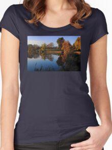 Hillsborough Lake Women's Fitted Scoop T-Shirt
