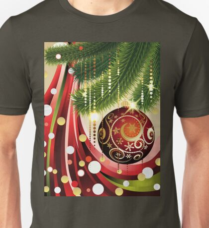 Red Ball and Branches 2 Unisex T-Shirt