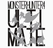 Monster Hunter 4 Ultimate - Crew (black text) by DrydAykma