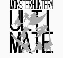 Monster Hunter 4 Ultimate - Crew (black text) Unisex T-Shirt