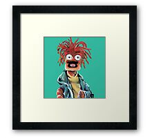 Pepe The King Prawn Fan Art  Framed Print
