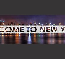 Welcome To New York by MrKent