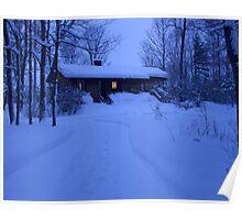 Snow night Poster